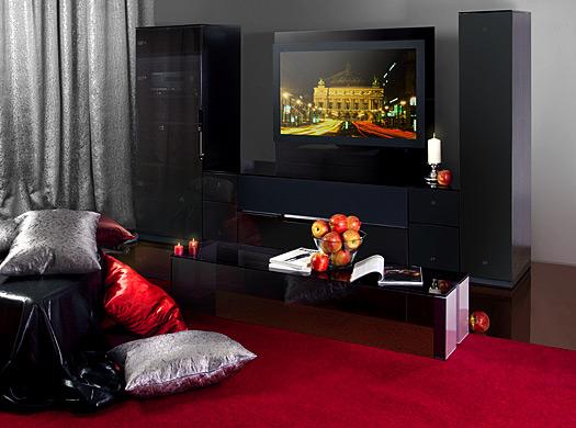 Черная Гостиная Мебель